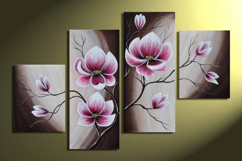 Картина цветок своими руками